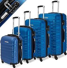 KESSER® 4tlg. Hartschalenkofferset Hard Shell Basic Hartschalenkoffer Trolley Koffer..