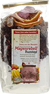 Ehenbachtaler Spezialitäten Magenrebell Rumtopf, 1er Pack 1 x 420 g