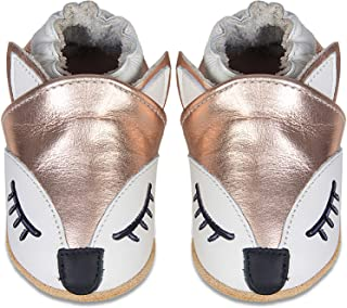 Chaussures Bébé Fille Chaussures Cuir soupl Chaussons Bébé Premiers Pas Garçon Cuir