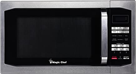 Magic Chef MCM1611ST 1100W Oven, 1.6 cu.ft, Stainless Steel Microwave