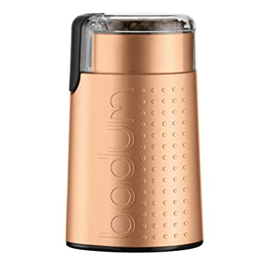 Bodum Bistro Electric Blade Coffee Grinder, 1 EA, Die-Cast Copper
