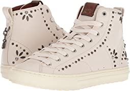 COACH C216 Prairie Rivet High Top Sneaker