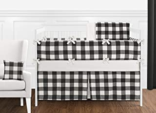 Best crib bedding black white Reviews