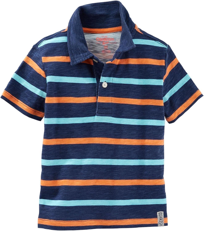 OshKosh B'Gosh Boys' Knit Polo Henley 21061710