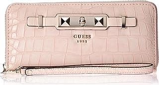 GUESS Cherie Croco - portafolios con cierre (tamaño grande), diseño de cocodrilo