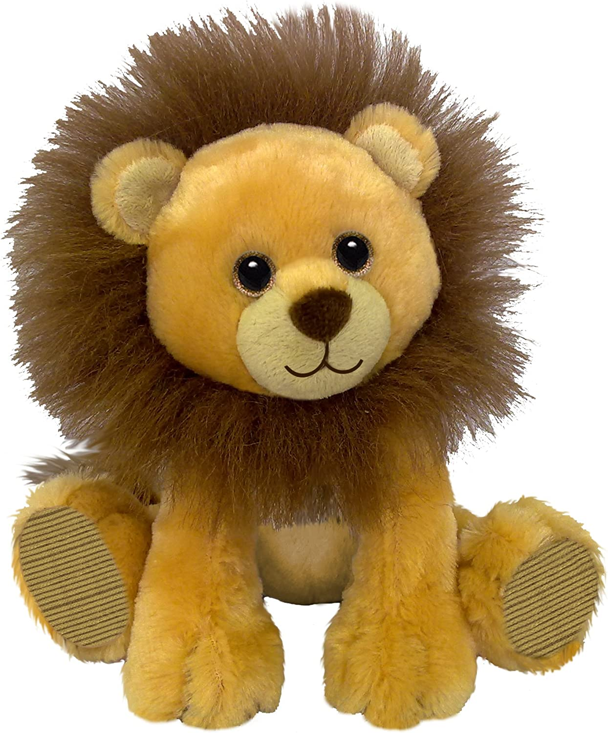 First & Main Sitting Floppy Friends Lion Plush Toy, 7   H