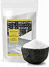 Dead Sea salt, Spa bath salts, 19 Lbs Fine Grain Large bulk resealable pack, 100% Pure & natural, Used for Body wash Scrub...