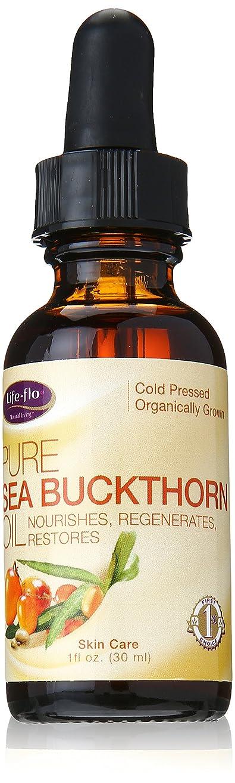 マイクロフォンスリンクレキシコン海外直送品 Life-Flo Pure Sea Buckthorn Oil, 1 oz