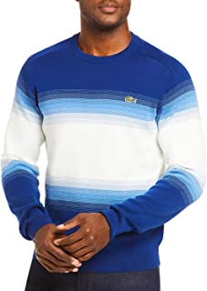 Men's Long Sleeve Ombre Interlock Sweater