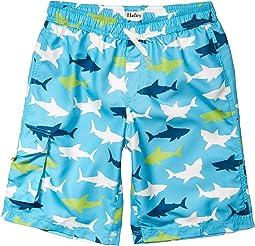 Great White Sharks Swim Trunks (Toddler/Little Kids/Big Kids)