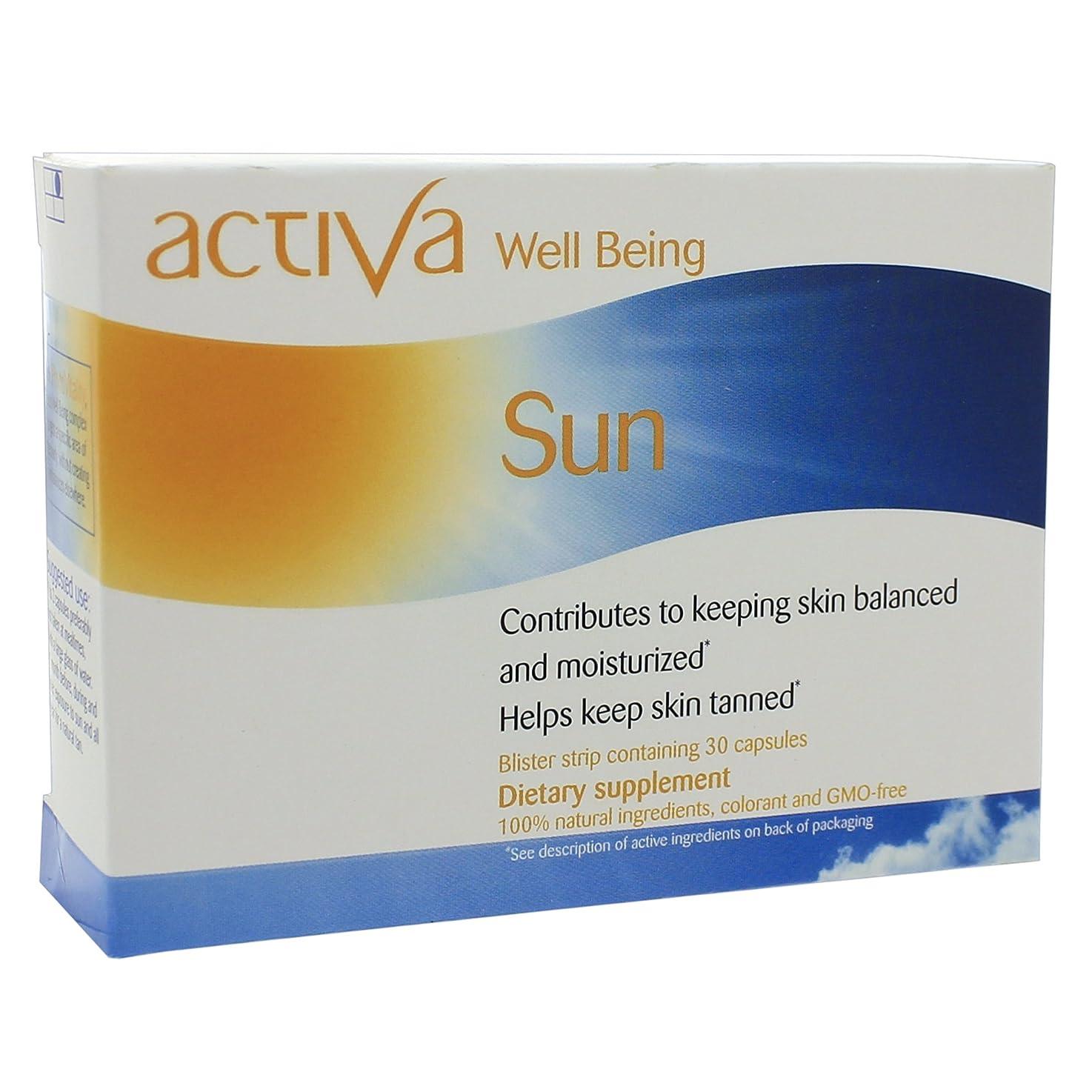 撤退しょっぱい不要(アクティバ) activa 【Well Being】 Sun サン 30カプセル