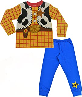 Disney Toy Story 4 Onesies for Kids, Buzz Lightyear and Woody Jumpsuit, Pyjamas for Boys and Girls, All in One Fun Kids Pj...