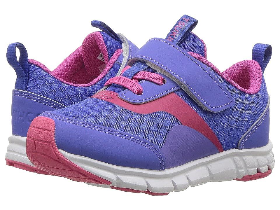 Tsukihoshi Kids Sonic (Toddler/Little Kid) (Blue Violet/Fuchsia) Girls Shoes