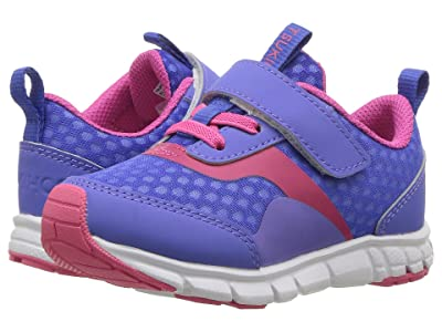 Tsukihoshi Kids Sonic (Toddler/Little Kid) (Blue Violet/Fuchsia) Girls Shoes
