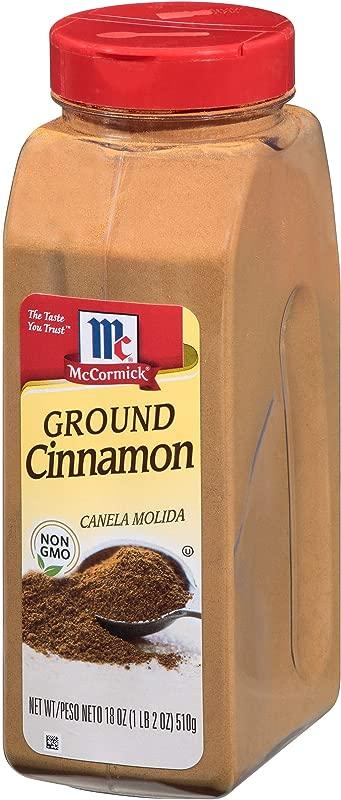 McCormick Ground Cinnamon 18 Fl Oz Pack Of 1