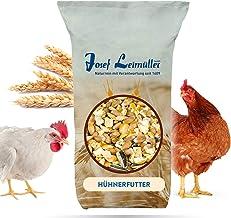 Leimüller Hühnerfutter 25 Kg   Körnerfutter für Hühner GVO - Gentechnik frei   6-Korn Geflügelfutter mehrfach gereinigt und staubfrei