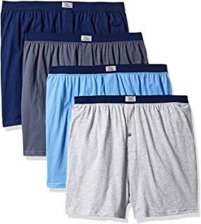 Fruit of The Loom Men's Soft Stretch-Knit Boxer Multipack...