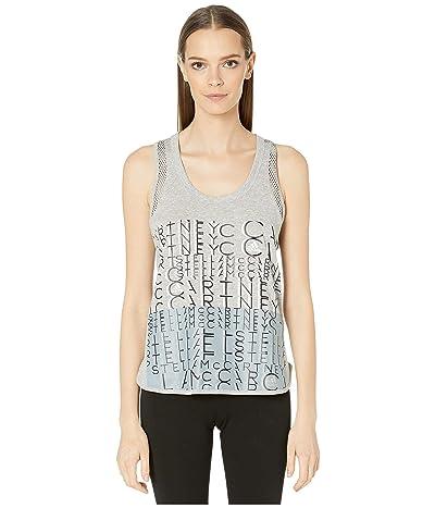 adidas by Stella McCartney Logo Tank EA2603 (Medium Grey Heather) Women