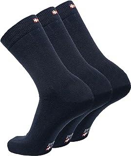 comprar comparacion DANISH ENDURANCE Calcetines de Lana Merina, Ejecutivos para Hombre y Mujer, Calcetines Clásicos de Vestir, Cómodos, Transp...