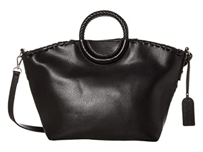 SOLE / SOCIETY Eda Satchel (Black) Handbags