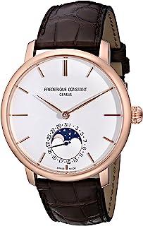 Frederique Constant - FC705V4S4 - Reloj para Hombres, Correa de Cuero