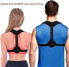 Back Posture Corrector Posture Brace for Women Men, Invisible Design Effective Comfortable Posture Support for Shoulder, Slouching, Upper Back Pain Relief (Black)