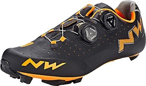 Northwave Hauszapatos MTB Rebel negro naranja - Talla  45