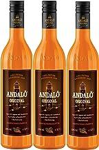 Andalö Original 15% vol. Sanddorn Aperitif Likör 3 x 0.7 l