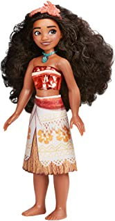 Disney Princess Royal Shimmer Moana Doll, Fashion Doll with Skirt and Accessories, Toy for Kids Ages 3 and Up