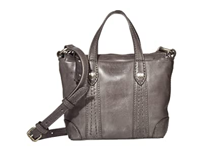 Frye Melissa Mini Crossbody Shopper (Carbon) Cross Body Handbags