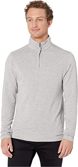 Lightweight Super Soft Stretch Tencel 1/4 Zip Pullover
