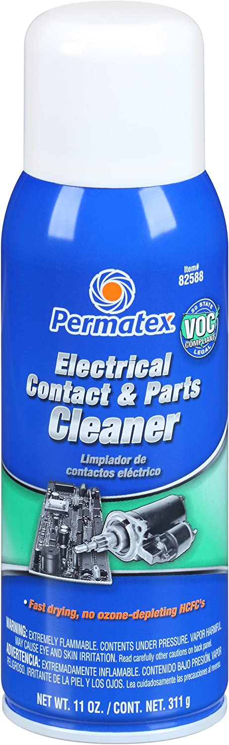 Finally resale start Permatex 82588 Electrical Contact and Parts oz. Cleaner Limited price sale 11