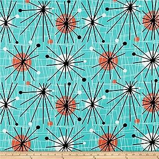 Best mid century modern print fabric Reviews