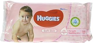 Huggies Baby Wipes Soft Skin (56 Wipes In 1 Pack)
