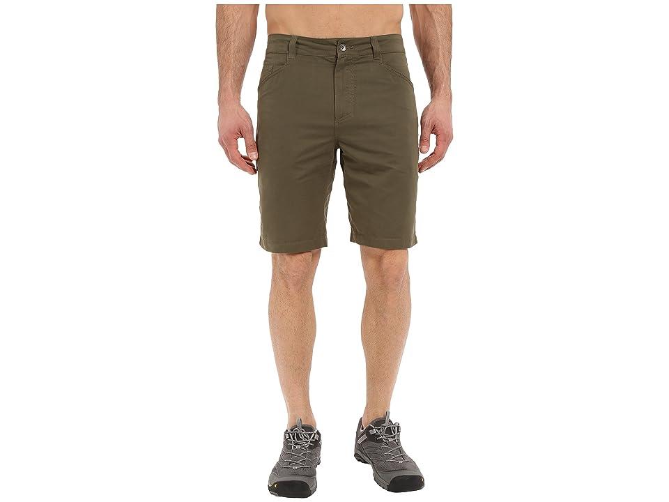 Royal Robbins Convoy Utility Shorts (Light Olive) Men