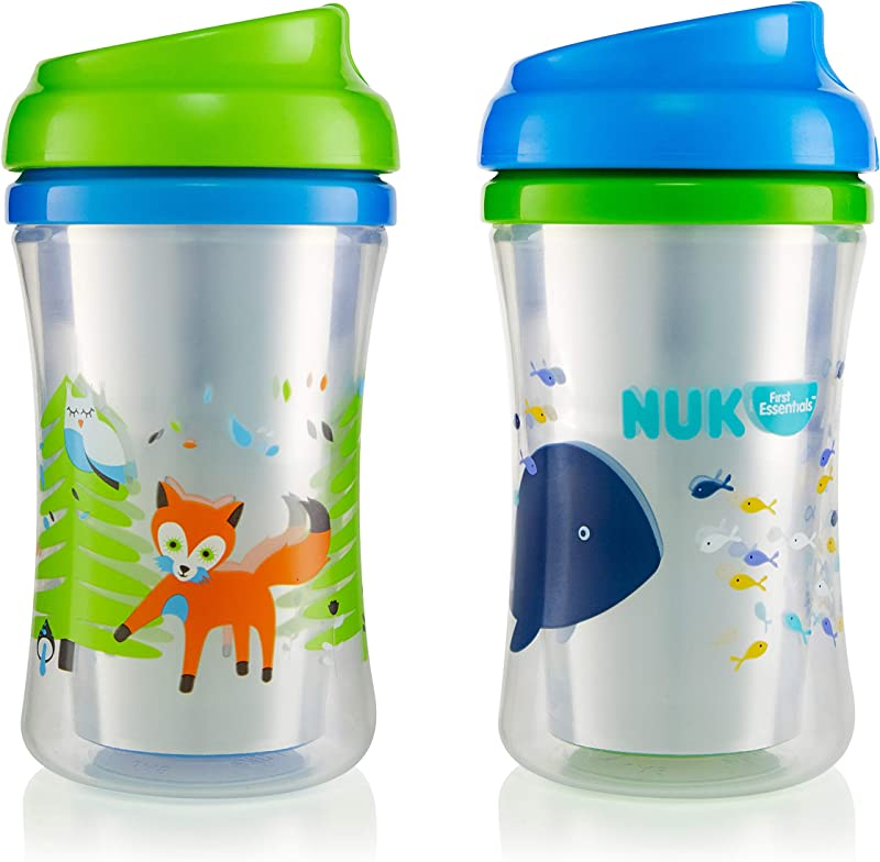First Essentials By NUK Hard Spout Sippy Cup 10 Oz 2 Pack