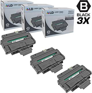 LD Compatible Toner Cartridge Replacement for Xerox 106R1486 (Black, 3-Pack)