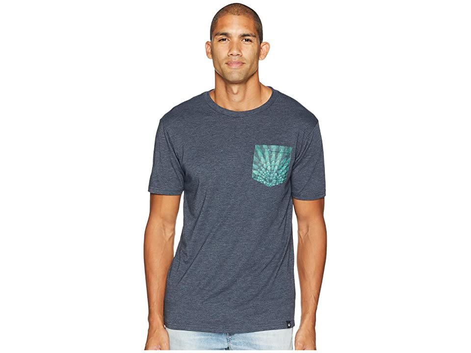 tentree Drone Pocket Tee (Outer Space) Men