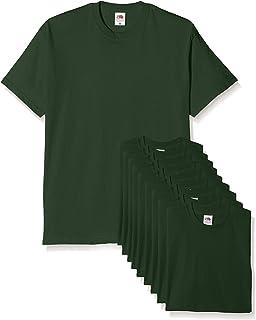 Fruit of the Loom Mens Original T. T-Shirt (Pacco da 10) Uomo