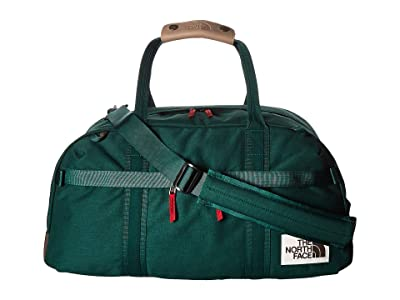 The North Face Berkeley Duffel Small (Night Green Light Heather/New Taupe Green Light Heather) Duffel Bags