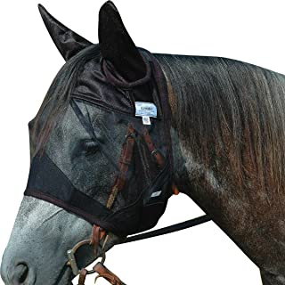 Cashel Quiet Ride Horse Fly Mask, Standard with Ears