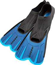 Cressi Adult Short Light Swim Fins with Self-Adjustable Comfortable Full Foot Pocket - Perfect for Traveling - Agua Short:...