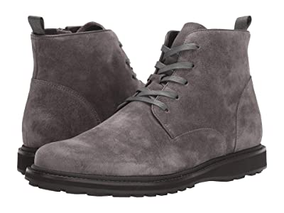 John Varvatos Brooklyn Lace Boot (Coal) Men