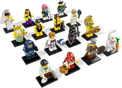 servicio de primera clase LEGO All 16 species product Mini Figure Series 7 7 7 Side A & Side B Minifugures series7 (japan import)  varios tamaños