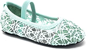 Little Girl's Toddlers Breathable Crochet Cute Lace Ballet Flat
