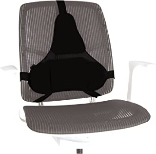 Fellowes Professional Series - Cojín lumbar ergonómico para silla de oficina, con Memory Foam, color negro