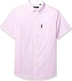 Ben Sherman Men's Ss Crosshatch Shirt