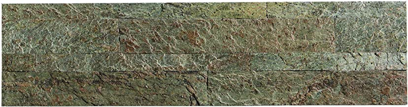 Aspect Peel and Stick Stone Overlay Kitchen Backsplash - Tarnished Quartz (5.9
