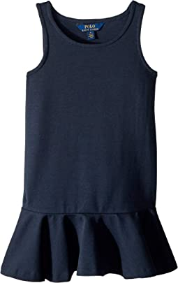 Ponte Sleeveless Dress (Little Kids)