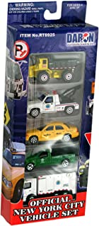 Daron New York City Official Vehicle Set, 5-Piece